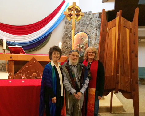 Rabbis Nadya Gross and Victor Gross Pastor Janet Kettering
